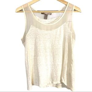 Forever 21 sheer accent tank